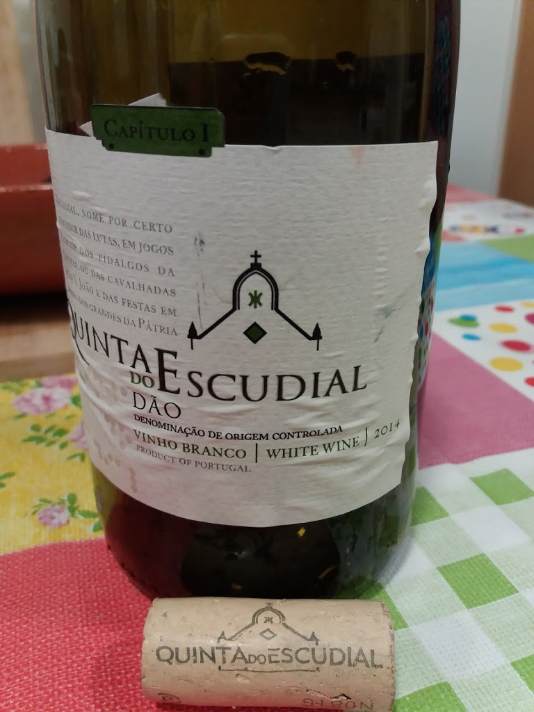Quinta do Escudial branco 2014