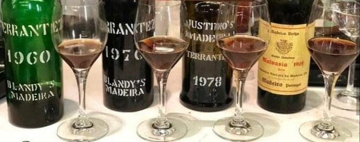 Madeira: Terrantez 60/70/78 ; Malvasia 1905