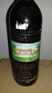 Borlido tinto garrafeira 1985