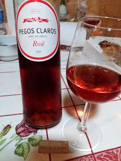 Pizza do Zmar e Pegos Claros Rosé 2013