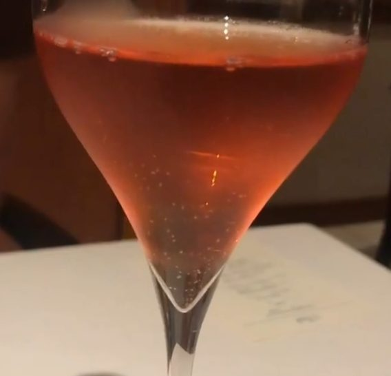 Champagne no Sr. José