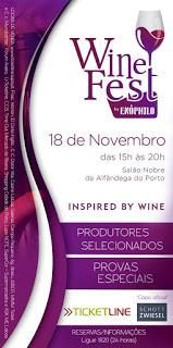 Wine Fest 2017 – Porto, 18 de Novembro