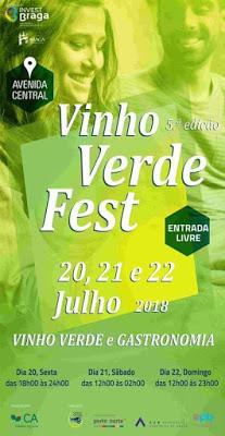 5.ª edição Vinho Verde Fest – Braga.